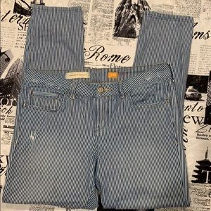 Anthropologie Pilcro striped jean